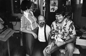 Françoise et Antoine Blondin et Jean Cormier, archives familiales