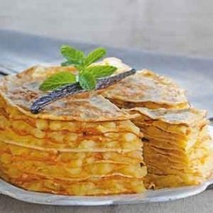 Gâteau de crêpes aux pommes via recettes-dietetiques.fr