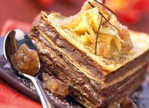 Gâteau de crêpes à la crème de marrons via rustica.fr