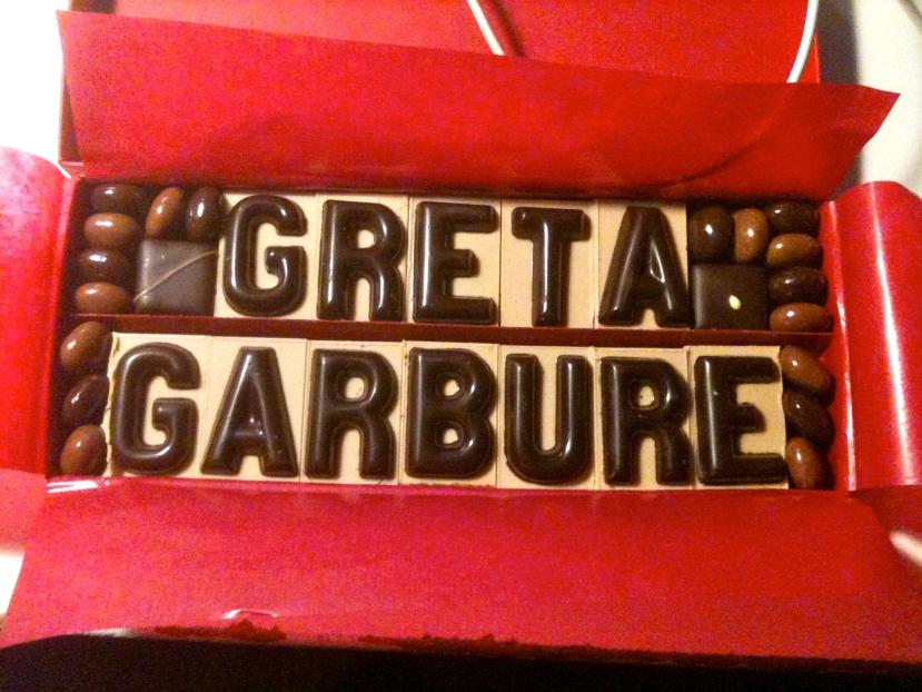 GG en chocolat