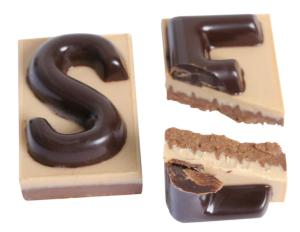 Intérieur des chocolats