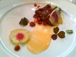 Tartare de chevreuil © Blandine Vié