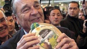 Chirac au Salon de l'Agricuture via ouest-france.fr