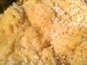 L'ajout de beurre et de parmesan