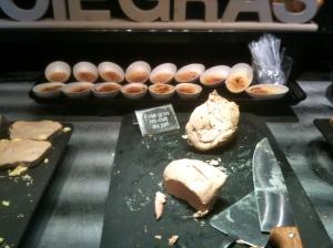 Le rayon foie gras © Blandine Vié