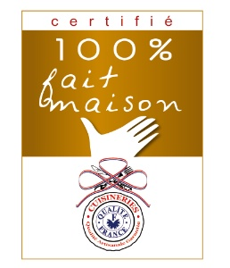 Logo fait 100% maison via lhotellerie-restauration.fr