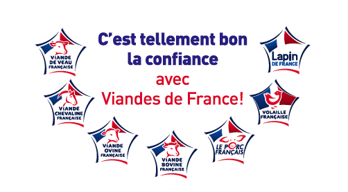 Logos des viandes de France