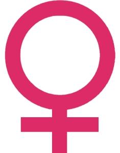Symbole féminin via femininsacre.com