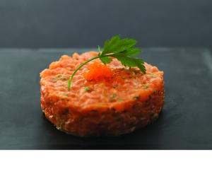 Tartare de saumon new style