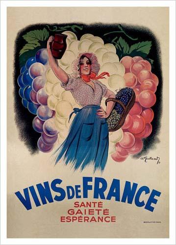 Vins de France via postercartel.com