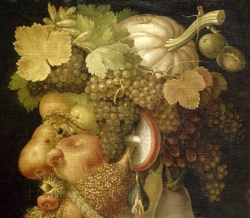 Arcimboldo fruits via blog.museum.toulouse.fr