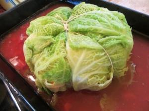 chou-farci à la tomate via  cuisine.journaldesfemmes.com