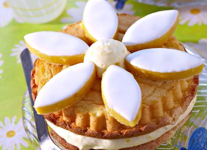 Gâteaux-pâquerettes, création de Blandine Vié pour le Cedus © Cedus