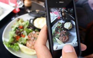 Photographier une assiette via leparisien.fr