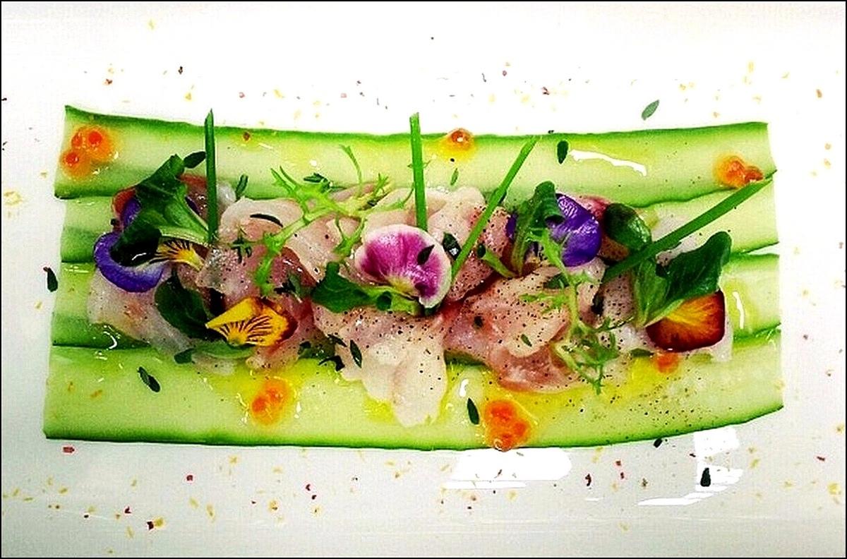 Decoration assiette restaurant amazing scallop tamarind
