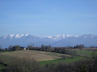 Pyrénées enneigées © Greta Garbure