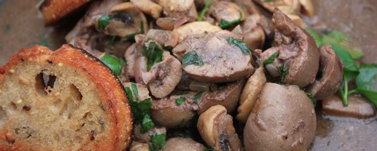 Rognons sauce madère via maxiviande.fr