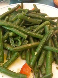 Salade de haricots verts © Greta Garbure