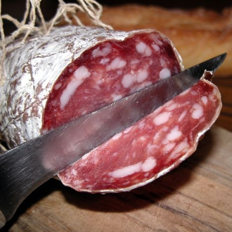 Saucisson du Périgord via cochonailleduterroir