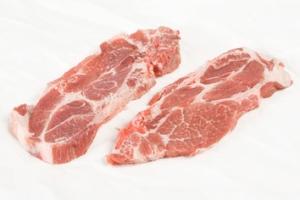 Côtes de porc découvertes via boucheriedirect.fr