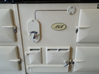 cuisini re la cornue aga greta garbure. Black Bedroom Furniture Sets. Home Design Ideas