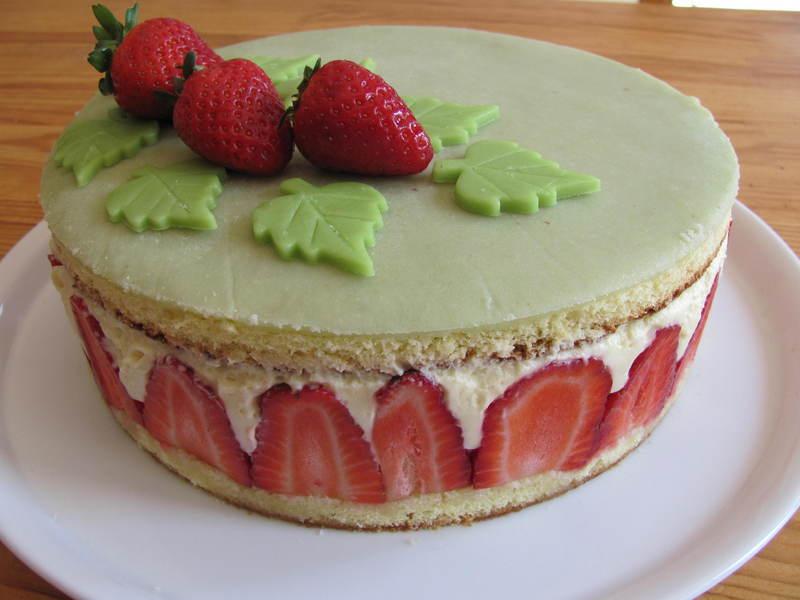 Fraisier for Decoration d un fraisier