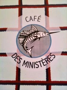 Logo café des ministères © Greta Garbure