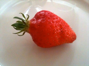 Une vraie fraise © Greta Garbure