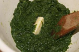Beurre dans les épinards via lesfoodies.com