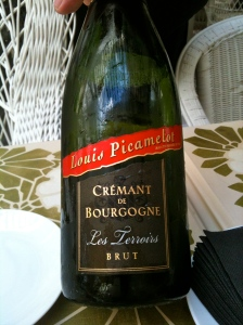 Crémant de Bourgogne brut Les Terroirs Louis Picamelot © Greta Garbure