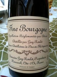 Fine de Bourgogne Guy Roulot © Greta Garbure