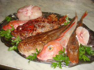 Les poissons à bouillabaisse via bistrotgourmand.canalblog.com