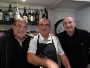 Raumond Casau, André Gaüzère, Firmin Arrambide : une belle bande de tristes !