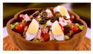 Salade niçoise via personalfrenchteacher.com