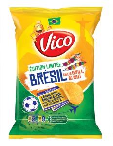 Chips Brésil saveur grill do Rio, en vente en GMS, 2,09 €