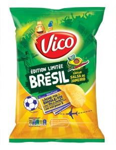 Chips Brésil saveur Salsa de Janeiro, en vente en GMS, 2,09 €