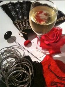 Champagne et fanfreluches © Greta Garbure