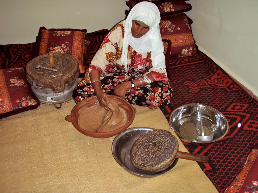 Fabrication de l'huile d'argan au Maroc