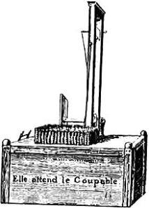 Guillotine permanente via fr.wikipedia.org