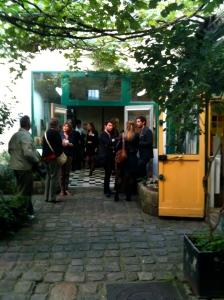 L'arrivée à l'atelier de Lison de Caunes © Greta Garbure