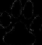 Papatte de chien en déco de la porcelaine siglée Hôtel Majestic Barrière