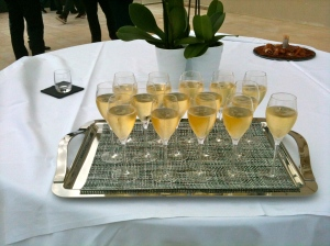 Verres de champagne © Greta Garbure