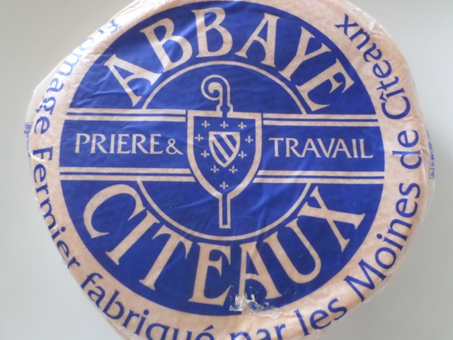 Fromage de l'abbaye de Cîteaux © Greta Garbure