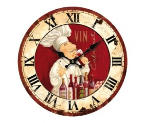 horloge-chef-cuisto via provencearomes.fr