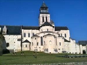 L'abbaye de Fontevraud © Greta Garbure