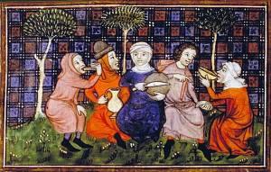 Le vin au Moyen-Âge via wikipedia.org