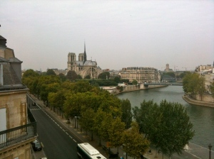 Notre-Dame vue de la Tour d'Argent © Greta Garbure