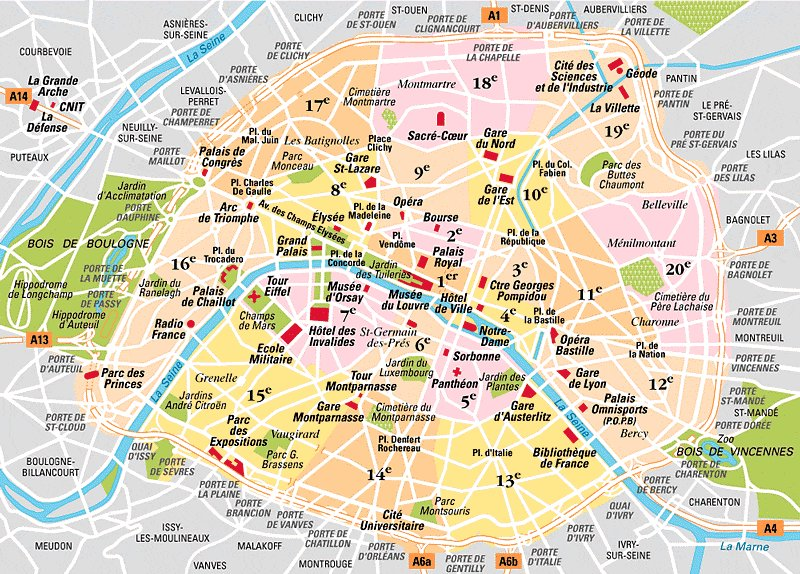 Plan de Paris via plandeparis.info