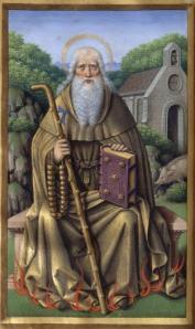 Saint Antoine le Grand via hodimecum.hautetfort.com