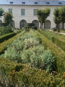 Jardin d'herbes devant le pavillon libanais (ma chambre à droite) © Greta Garbure